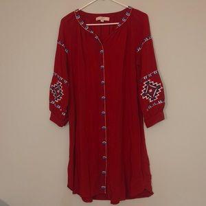Loft Aztec Tunic Dress